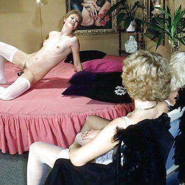 Vintage Lesbenspiele beobachten